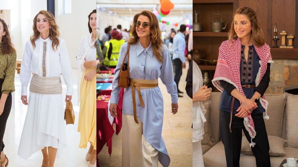 Queen Rania Wins At Autumnal Style Yet Again