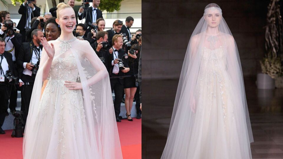 9 Times Celebrities Wore Actual Wedding Dresses On The Red Carpet