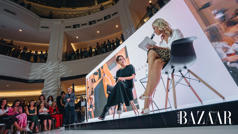 In Conversation With Victoria Beckham At The Bazaar Capsule