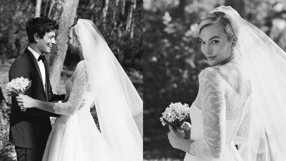 Karlie Kloss Finally Reveals How Her Custom Dior Wedding Dress Was Made