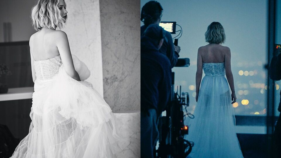 Jennifer Lawrence S Wedding Dress Had It S Own Room Harper S