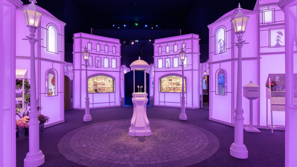 Van Cleef & Arpels Built An Entire City To Celebrate The Launch Of Their New Watch