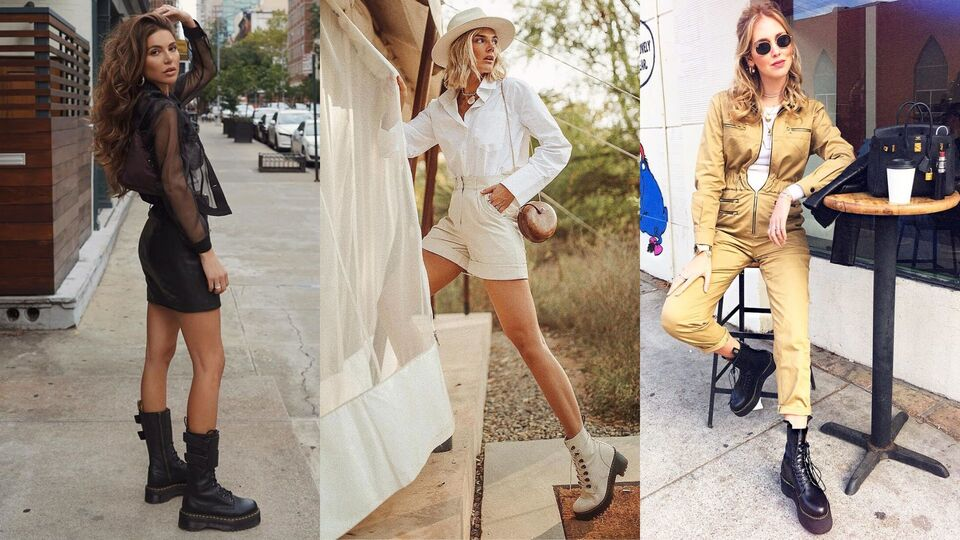 Twelve Different Ways You Can Style Dr. Martens | Harper's