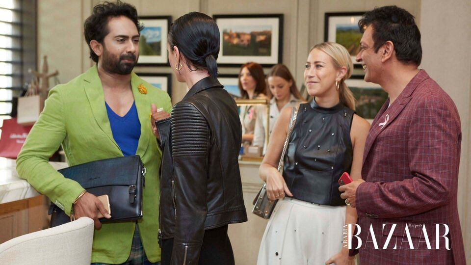 In Pictures: Inside BAZAAR's November Cover Reveal Lunch With Will.i.Am