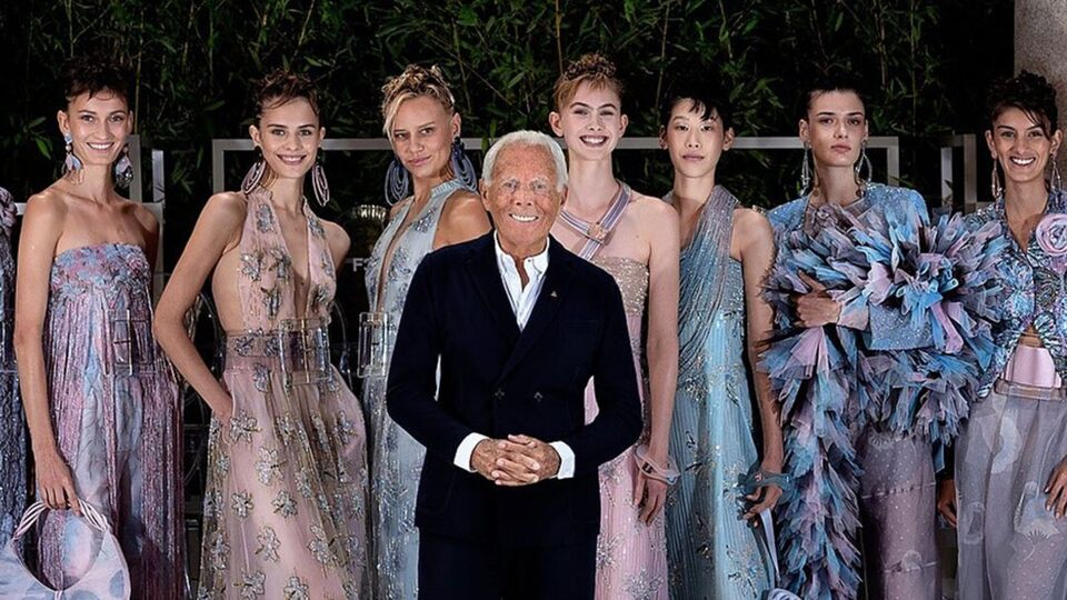 Giorgio Armani Is Bringing His Legendary Fashion Show To Dubai