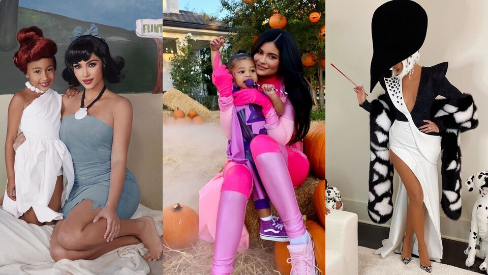 Every Single Thing The Kardashians Wore For Halloween