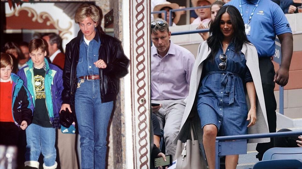 12 Times Meghan Markle Channeled Princess Diana's Royal Style
