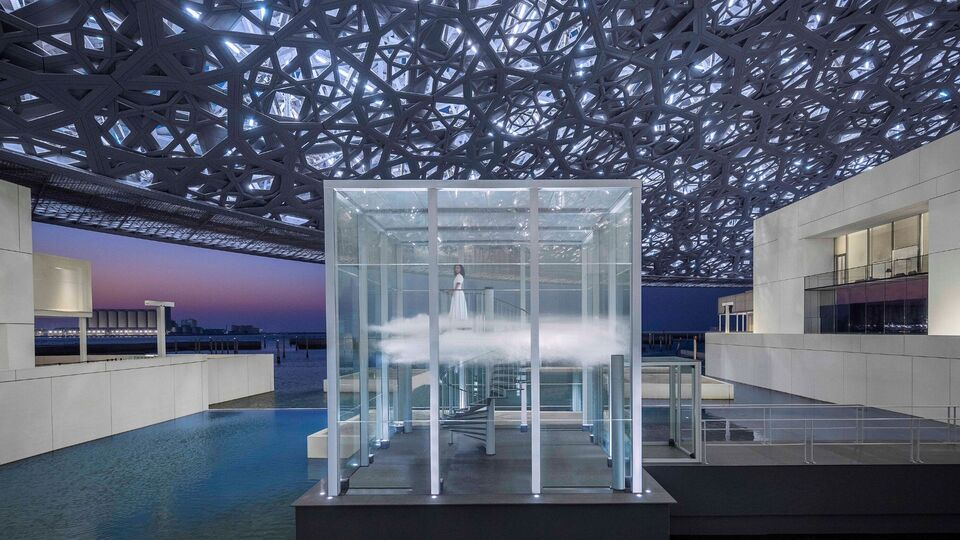 Cartier Has Created A Perfumed Cloud At Louvre Abu Dhabi