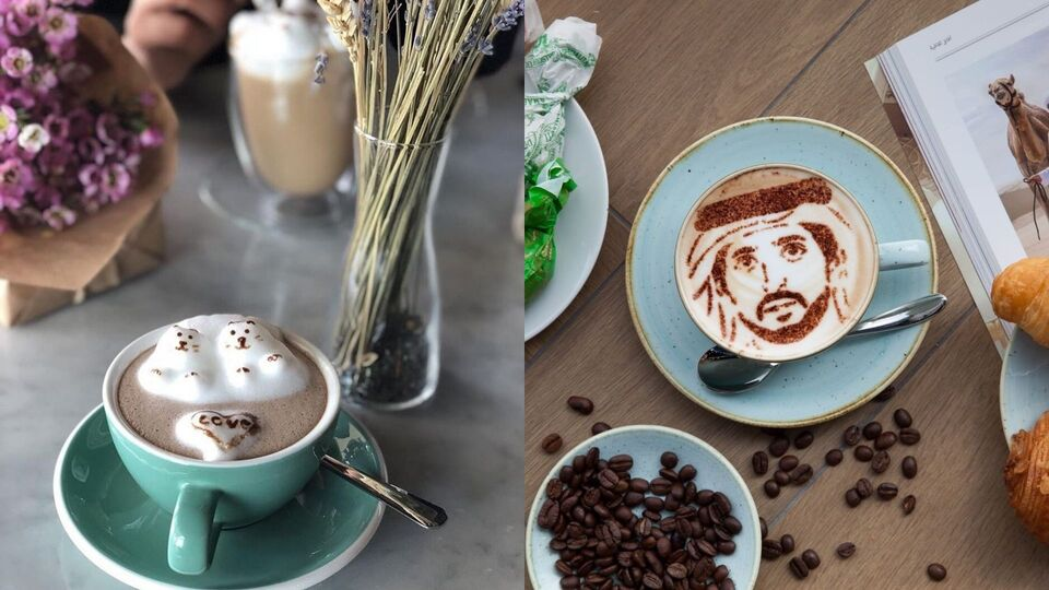 All The Times The Middle East Won At Coffee Art