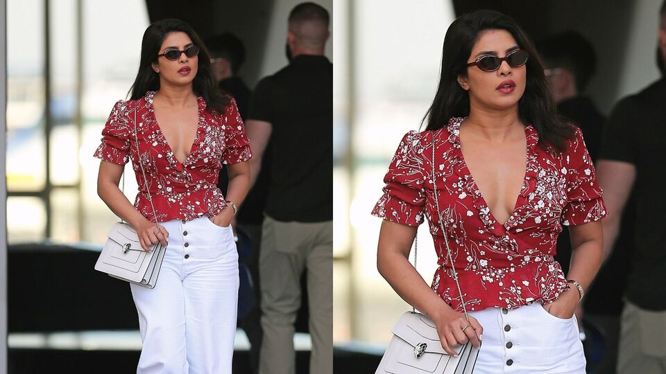 Priyanka Chopra Just Made In-Flight Fashion Look Fabulous