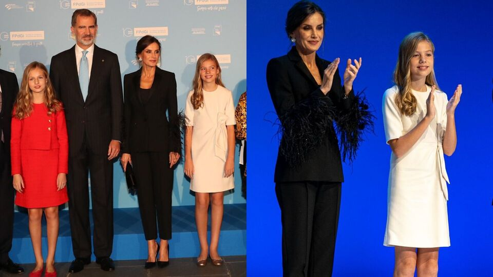 Queen Letizia Shows Us How To Wear Feathers To Work