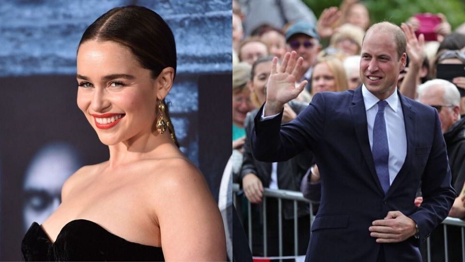 Emilia Clarke's First Encounter With Prince William Was Adorably Awkward