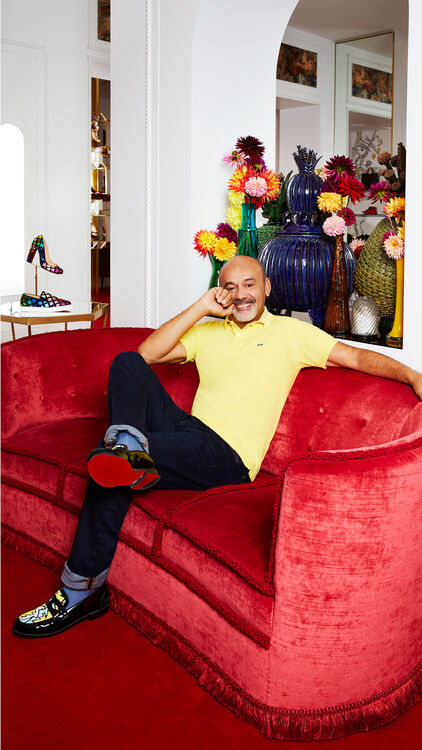 Interview: Christian Louboutin On A Life Spent On The Dancefloor