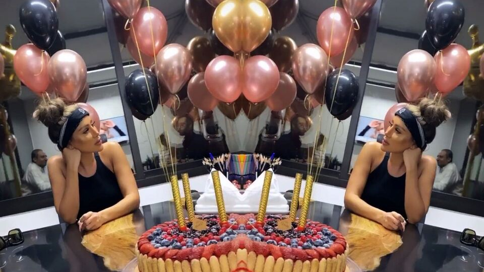 Maya Diab's Co-Workers Surprised Her For Her Birthday