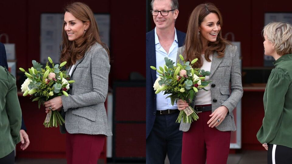 Kate Middleton Sports The Ultimate On-Duty Autumn Look