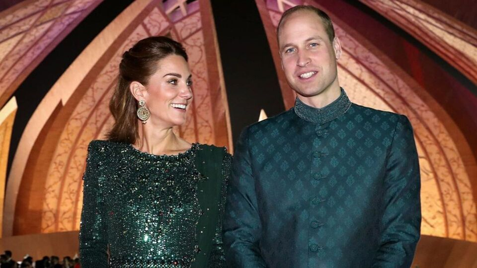 Kate Middleton And Prince William Shared A Rare PDA Moment