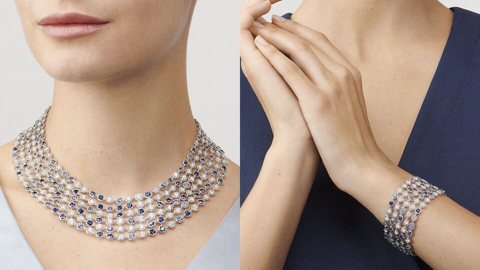 """Van Cleef & Arpels Has The Perfect """"Something Blue"""" For Your Wedding"""