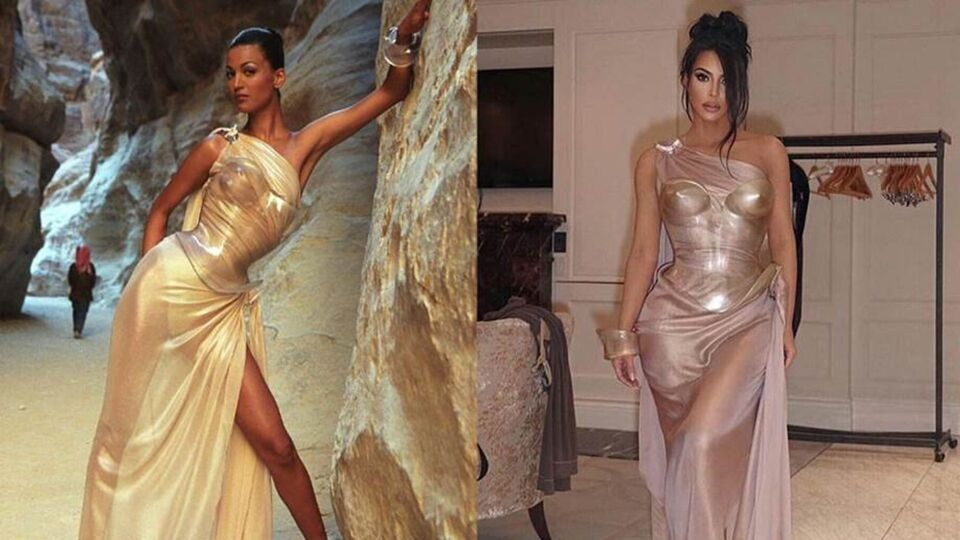 Every Single Time Kim Kardashian Was The Queen Of Vinage Designer Fashion