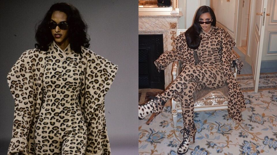 Every Single Time Kim Kardashian Was The Queen Of Vinage Designer Fashion