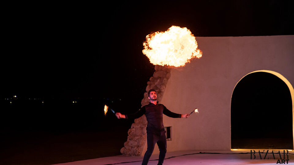 All The Highlights From The Sunset Dinner By Abu Dhabi Art
