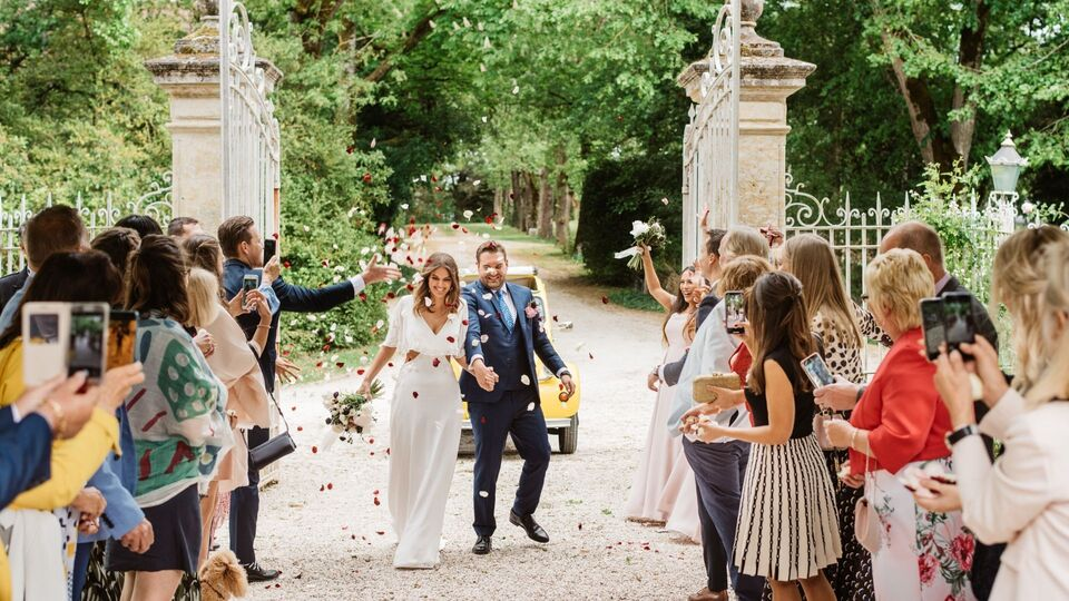 Inside The Wedding Of May Martin And Marc Plaggenburg