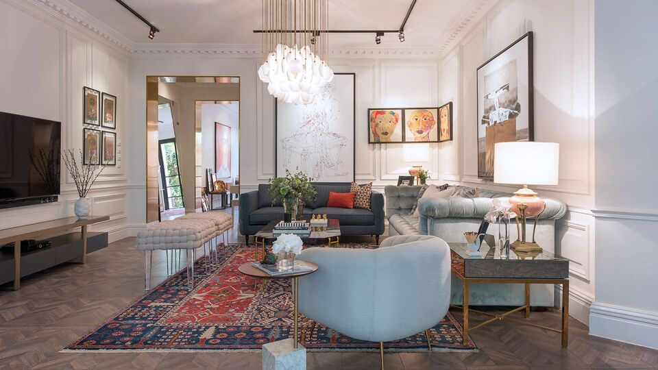 Inside Jeddah Based Interior Designer Rawan Alsahsah S Eclectic Home Harper S Bazaar Interiors