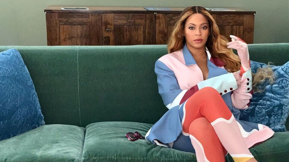 Beyoncé Just Wore This Arty Ensemble By An Emerging Lebanese Brand And We're Obsessed