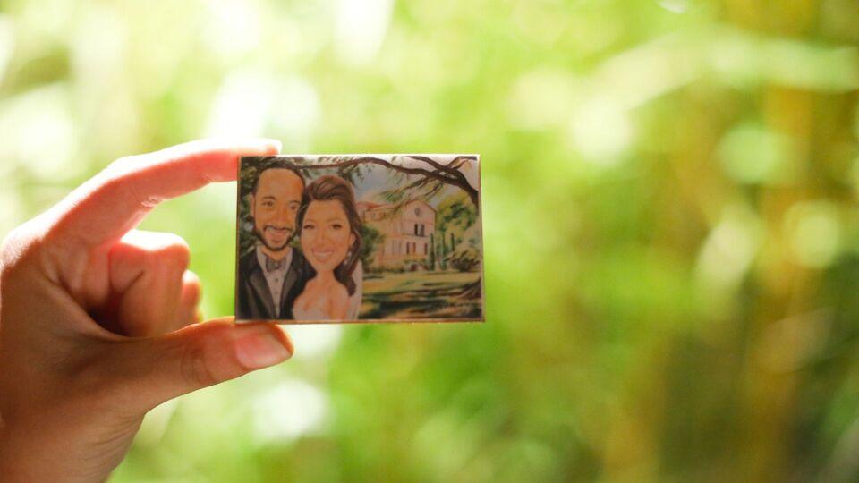 Inside The Wedding Of Melanie Makki And Ameen Rhayem