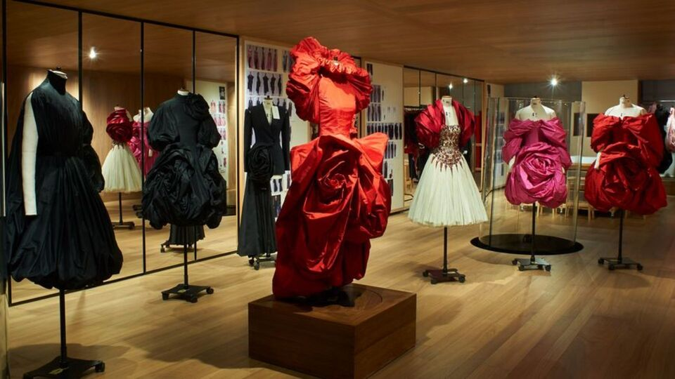 Inside The Beautiful New Alexander McQueen Exhibition, Roses