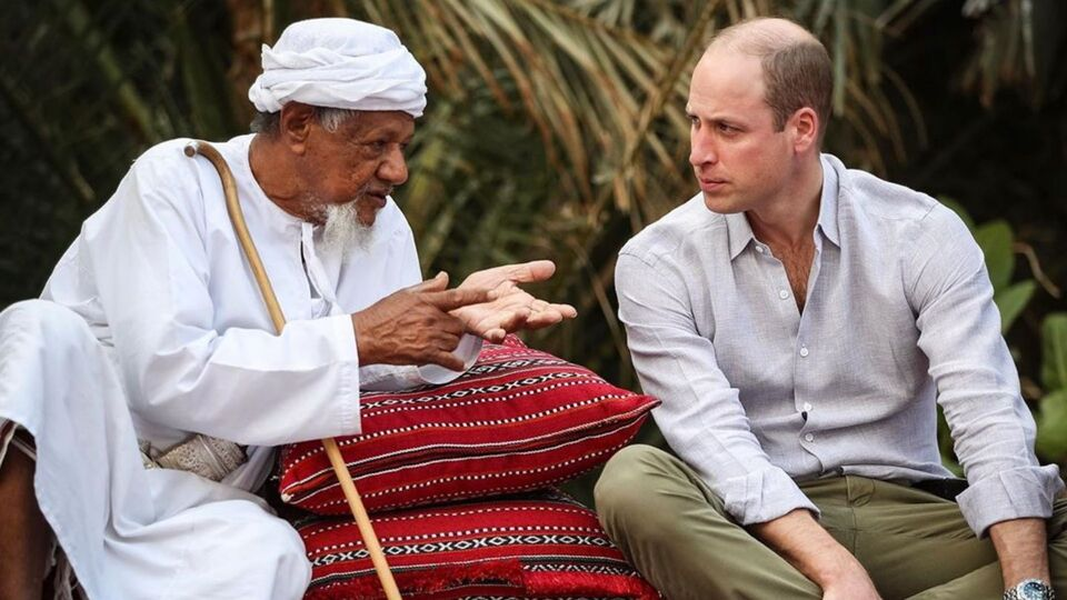 Prince William Just Posted A Video Of His Middle East Trip On Instagram