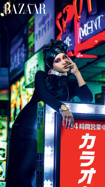 Rising Star Dhan Illiani Shuts Down Tokyo With Chanel