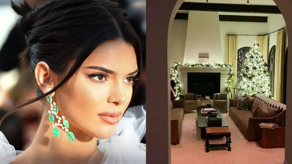 Watch   Kendall Jenner Gives A Tour Of The Christmas Decor At Her Dhs32m Mansion