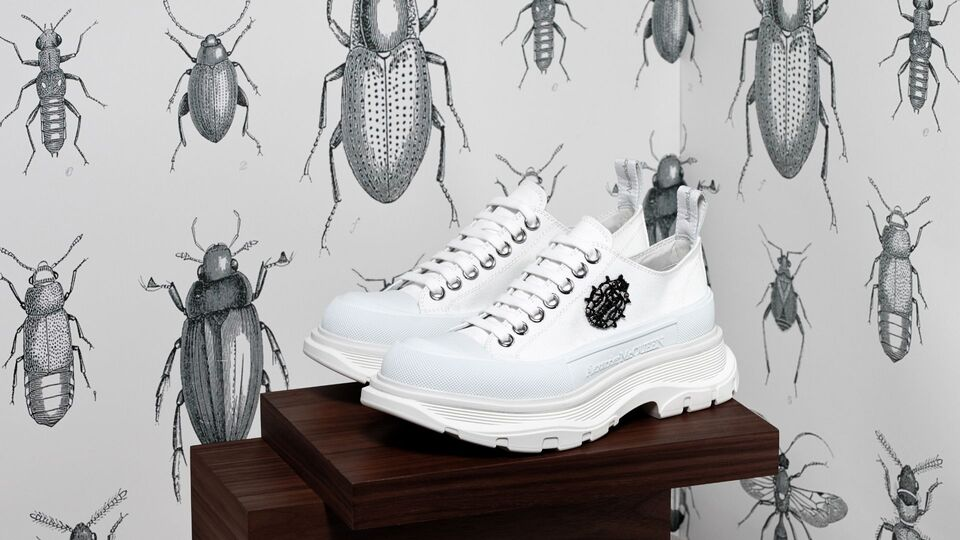 Stop Everything. An Alexander McQueen Pop-Up Has Launched At Level Shoes