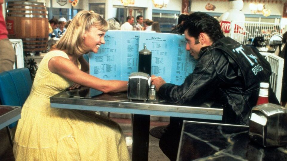Olivia Newton-John And John Travolta Just Dressed Up In Their Grease Costumes
