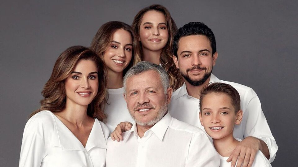 Kim Kardashian-West And Queen Rania Share Their Family Photo For The Holidays
