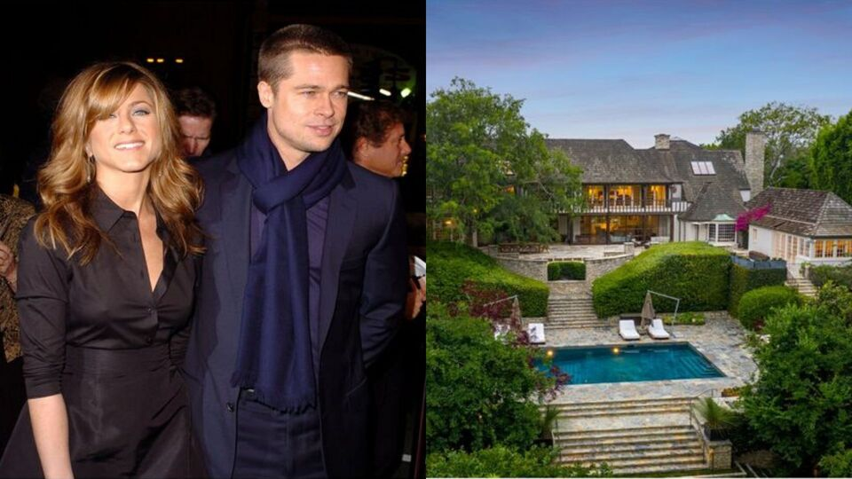 Brad Pitt And Jennifer Aniston's Newlywed Mansion Is On Sale For $44.5 Million