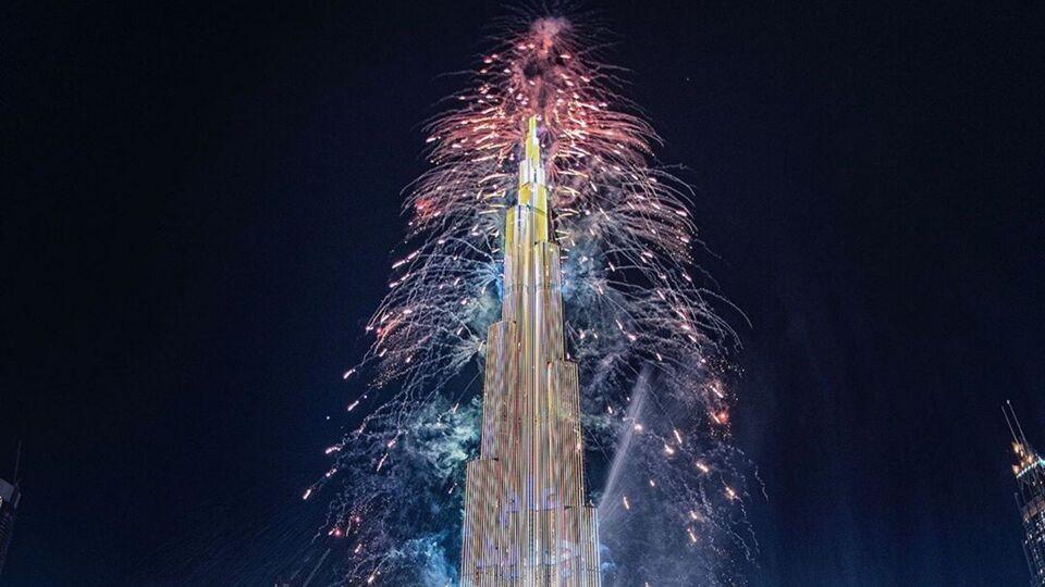 Watch | Dubai's Burj Khalifa Rang In 2020 With a Spectacular Fireworks Display