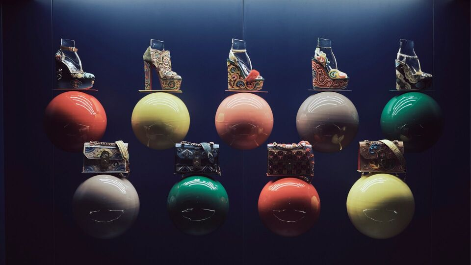 Christian Louboutin's Latest Capsule Collection LouBhoutan Is Art On Heels