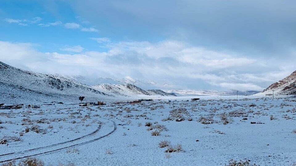 Saudi Arabia Was Snow-Covered Winter Wonderland This Weekend