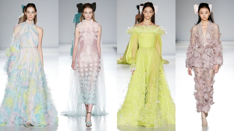 Ralph and Russo Pay Tribute To Australia's Bushfires During Paris Haute Couture Week