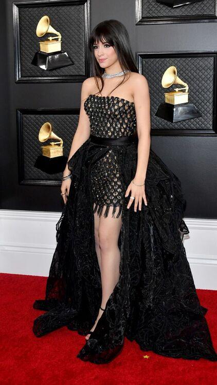 cardi b grammys 2020 dress