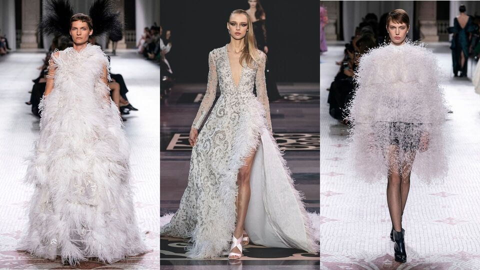 8 Dreamy Pieces To Achieve A Feather-Fantasy Wedding Look