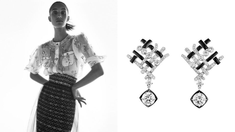 Chanel Unveils Its First High Jewellery Collection Dedicated Entirely To Tweed