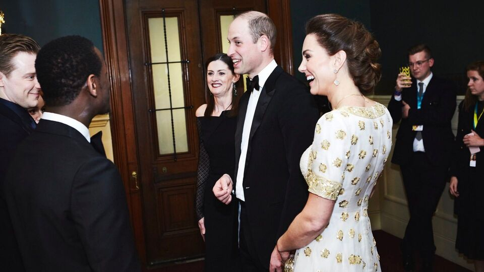 Kate Middleton And Prince William Radiated Sustainable Elegance On The BAFTAS Red Carpet