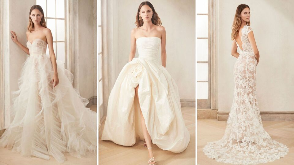 Oscar De La Renta's Autumn 2020 Bridal Collection Is A Sartorial Dream Come True