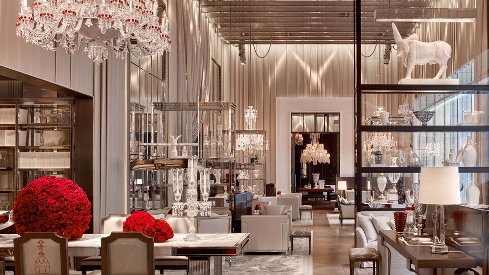 Discover The Art Of Tea At The Baccarat Flagship Hotel In New York