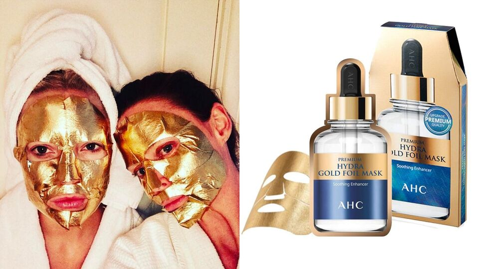 5 Gold-Infused Face Masks That Celebs Swear By