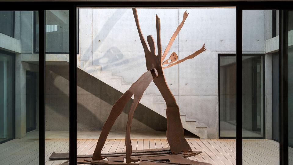 A Sneak Peek Into Artist Nadim Karam's Brand New Beirut Atelier