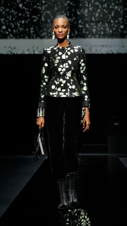 The Best Looks From Giorgio Armani A/W20 Runway