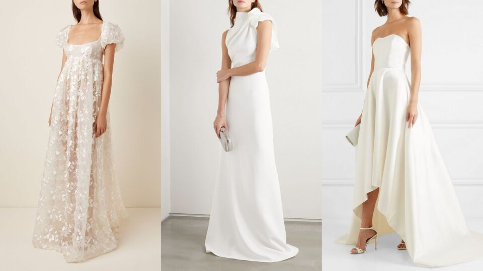 7 Incredibly Chic Wedding Dresses You Can Shop Online Harper S